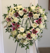 EXPRESSION OF LOVE HEART WREATH