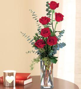 Expression of Love TF32-1 6 Red Roses