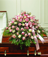 Expressions of Pink Casket Spray