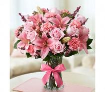 EXPRESSIONS OF PINK Vase Arrangement