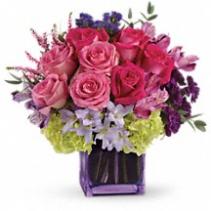 Exquisite Beauty by Teleflora Vase Arrangement