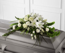 Exquisite Simplicity Casket Spray Casket Spray