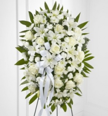 Exquisite Tribute Standing Spray SYMPATHY