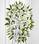 Exquisite Tribute Standing Spray sympathy flowers