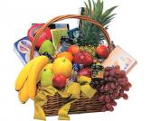 Extra large Fruits & Cheese Basket  Gift Basket