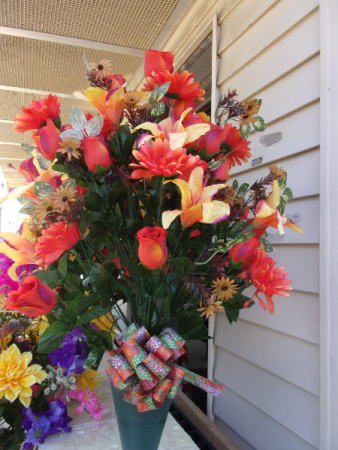 EXTRA LARGE MIXED FALL FLOWERS $39.99 FALL FLOWERS