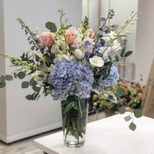 St. Jean Beach Vase Arrangement in Middletown, NJ | Fine Flowers