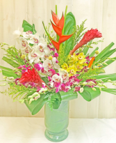 EXTRA LARGE TROPICAL CENTERPIECE Extra Large Tropical Mixture