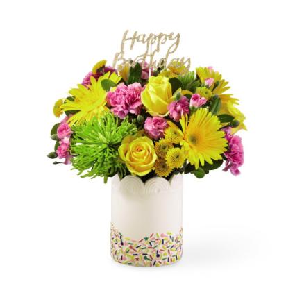 Extra Sprinkles Birthday Arrangement