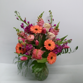 Extravagant Blooms Vase Arrangement