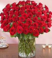 Extravagant Love Red Roses