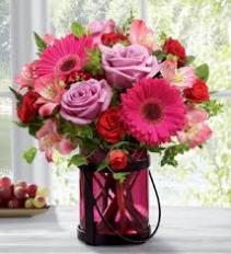 Exuberant Pink Bouquet Flower Arrangement