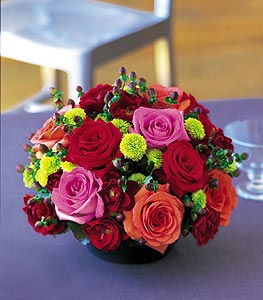 Eye Popping Beauty! Roses and other mixed flowers