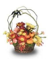 ITSY, BITSY SPIDER Flower Basket