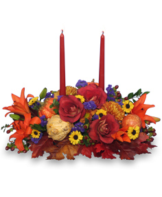 LET US GIVE THANKS Floral Centerpiece in Richland, WA | ARLENE'S FLOWERS AND GIFTS
