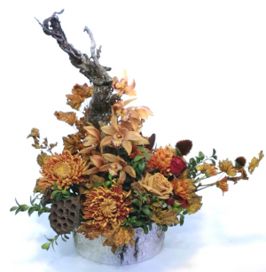 Fabulous Fall Container Arrangement in Invermere, BC | INSPIRE FLORAL BOUTIQUE