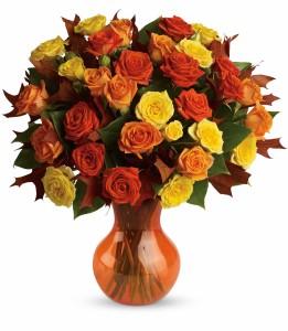 Fabulous Fall Roses HFL023A