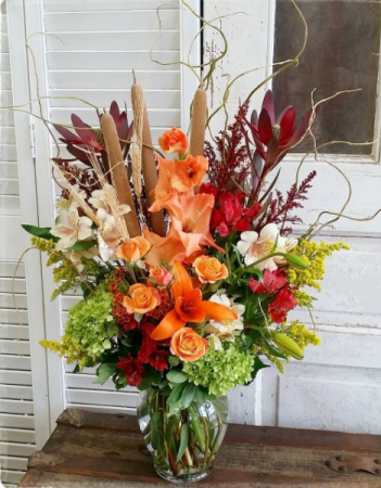 Fabulous Fall Vase Arrangement