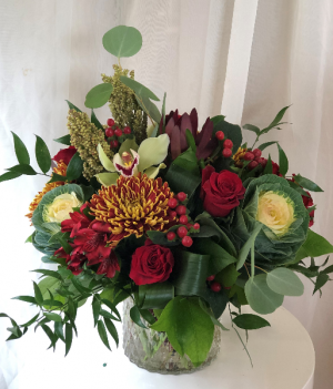 Fabulous Fall  Vase Arrangement  in Woodbridge, ON | PRIMAVERA FLOWERS & MORE