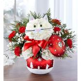 Fabulous Feline™ in Starry Night Ornament™ Arrangement