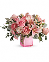 Fabulous Flora Bouquet Cube