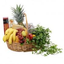 Fabulous Fruit and More Basket Arrangement