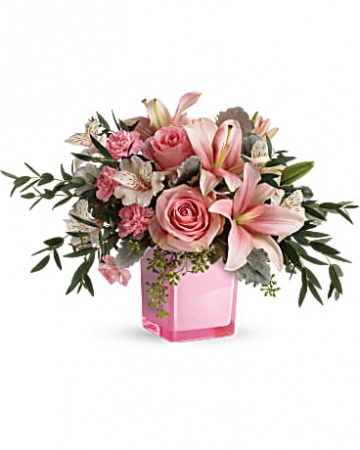 Fabulous lady Fresh mixed flowers