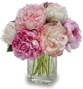 Fabulous Peonies Bouquet In Garrett Park Md Rockville Florist