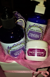 RELAXING LAVENDER  FOR THE FACE AND BODY