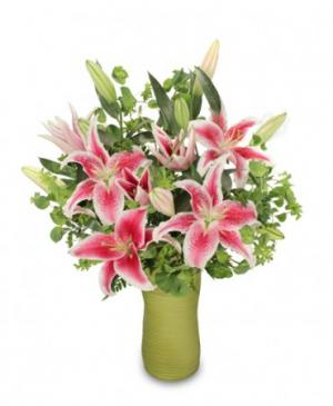 Fair As A Lily Bouquet in Decatur, IL | WETHINGTON'S FRESH FLOWERS & GIFTS, INC.