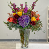 Faire la Moisson Vase Arrangement