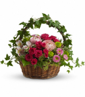 Teleflora's Fairest of All Fresh Floral Basket
