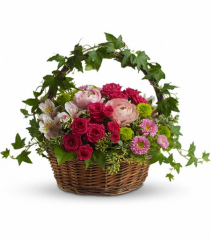Fairest of All Fresh Floral Basket