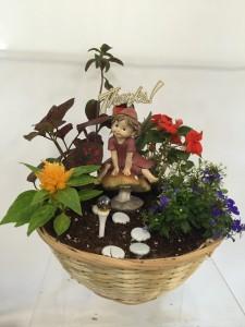 Fairy Desk Garden Decor/Plants in Emporia, KS | RIVERSIDE GARDEN FLORIST