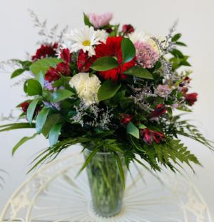 Fairy Garden Mixed Vase in Gander, NL | Loretta's Flower World