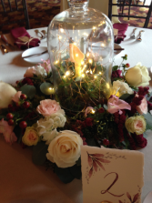 Fairy Light Garden Centerpiece