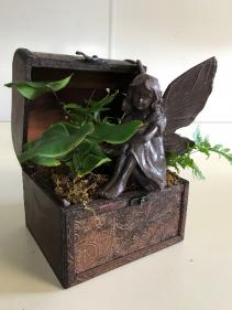 Fairy Treasure Chest Planter Planter