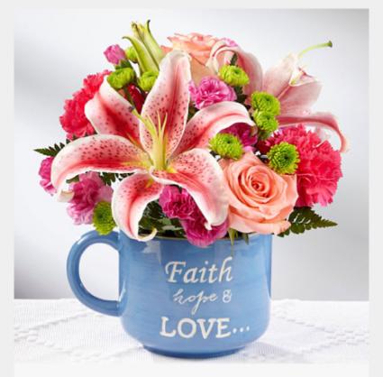 Faith bouquet  Medium