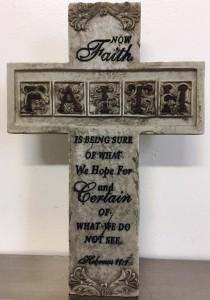 Faith Cross Hebrews 11:1