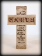 FAITH CROSS Sayings may vary depending on availability.