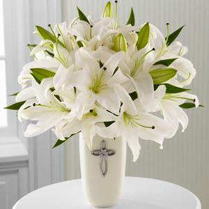 Faithful Blessings Bouquet Funeral Flowers