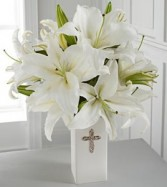 Faithful Blessings Bouquet Simply Elegant with hopeful sentiments