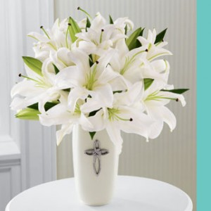 Faithful Blessings Bouquet Sympathy Gift