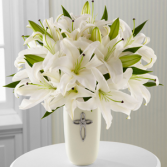 Faithful Blessings Lily Arrangement