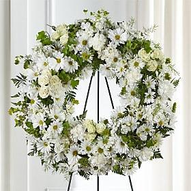 Faithful Wishes Wreath