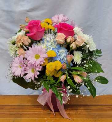 Faithfully Yours Vase Arrangement