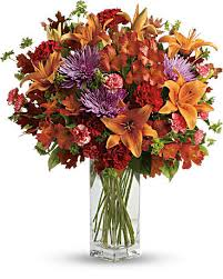 Fall 1 Fall Vase Arrangement