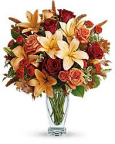 FALL 2 Fall Vase Arrangement