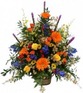 Autumn Supreme Basket Arrangement