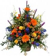 Autumn Supreme Basket Arrangement in Akron, Pennsylvania | ROXANNE'S FLOWERS